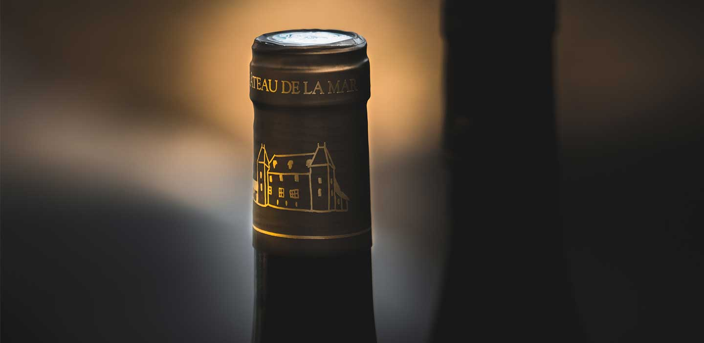 Col de bouteille du Chateau de la Mar