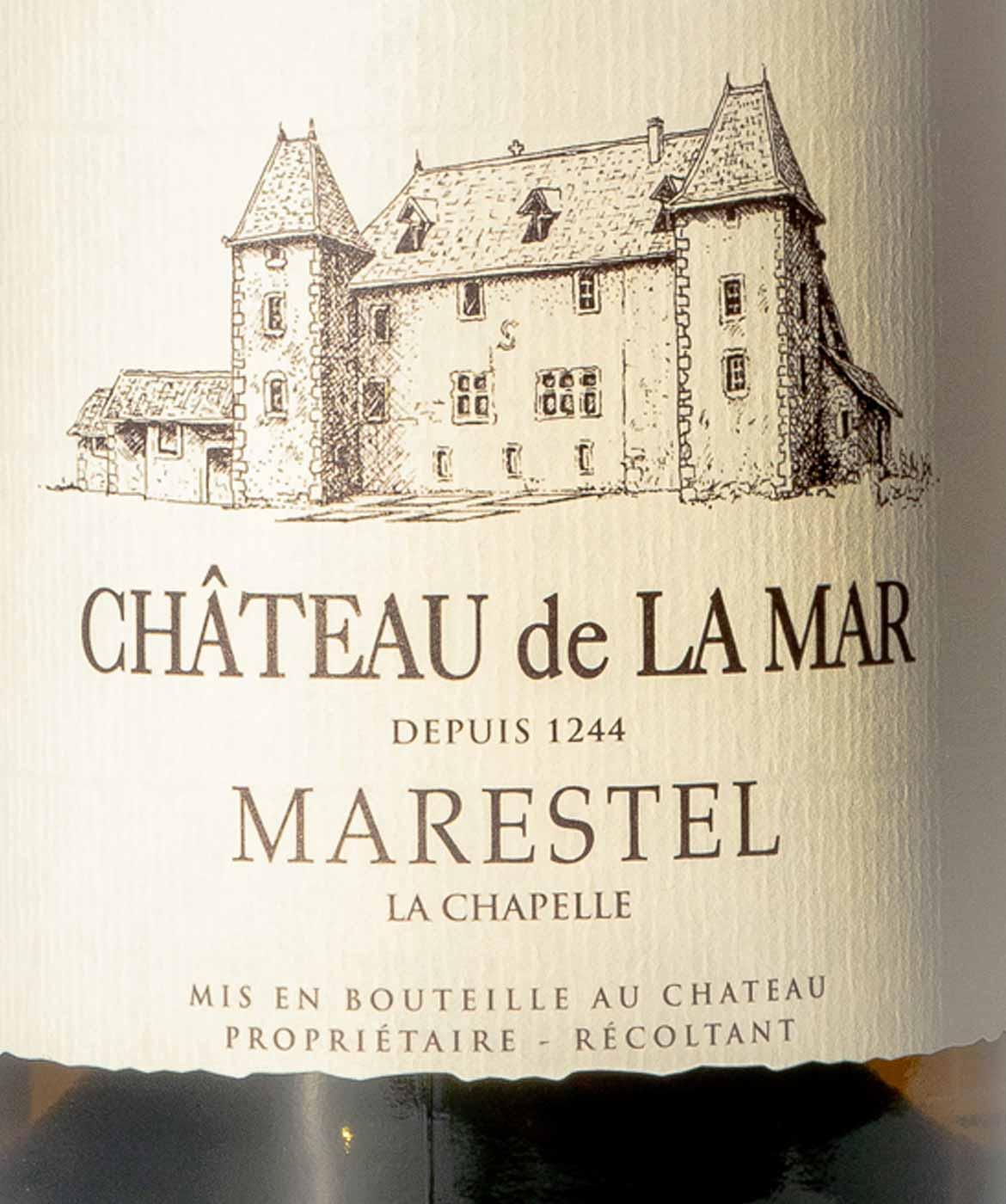 Marestel La Chapelle - Etiquette Vins blancs de Savoie