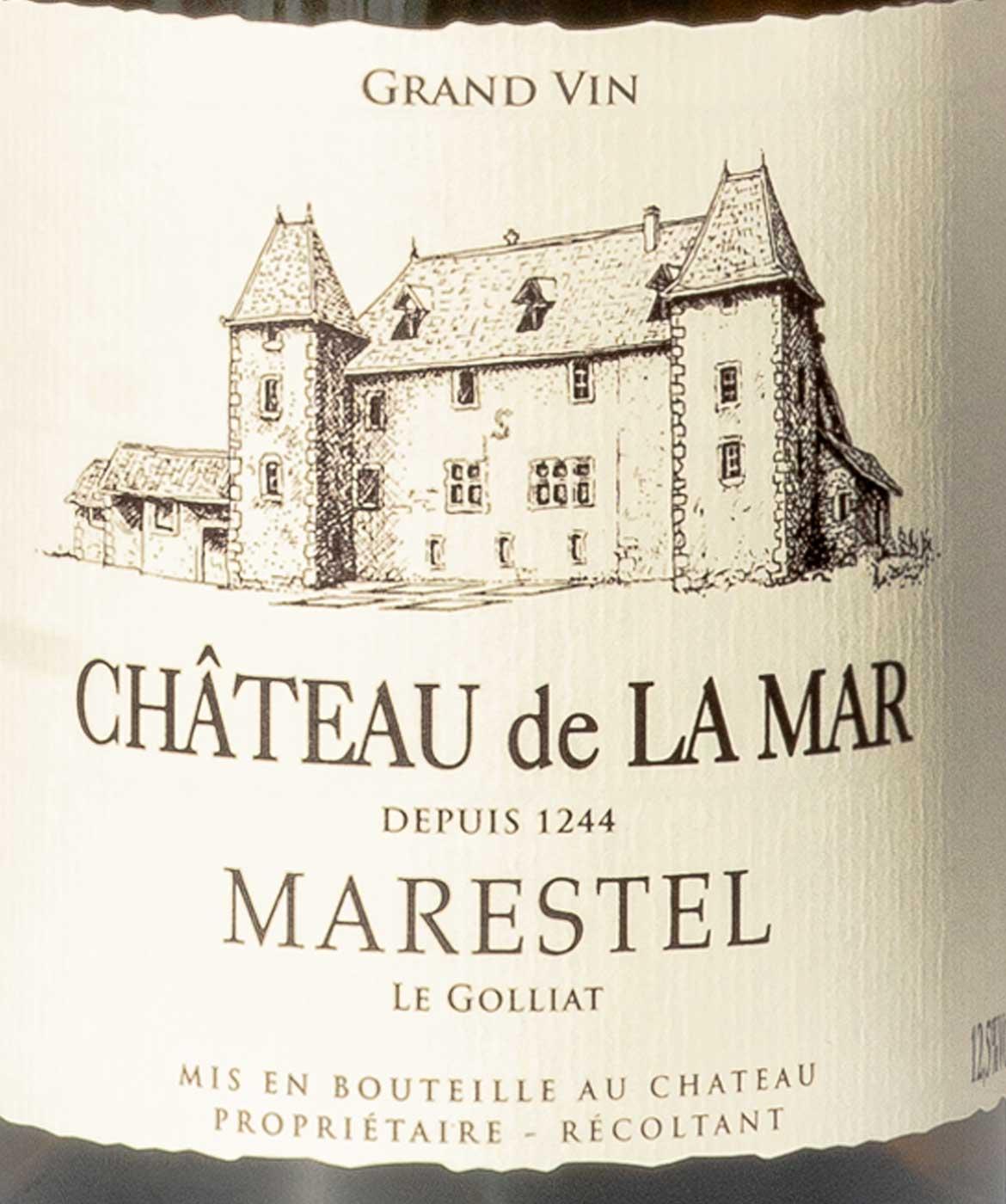 Marestel Le Golliat - Etiquette vins blancs de savoie