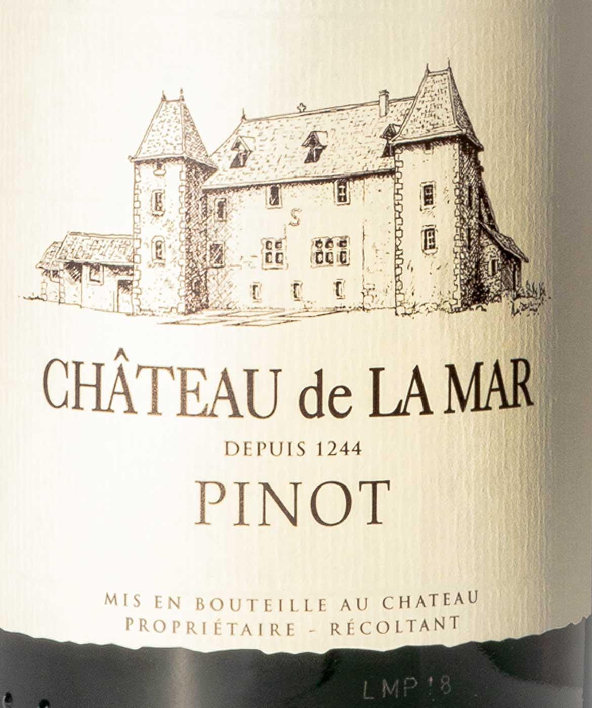 Piniot Savoie - Etiquette vins rouges de savoie