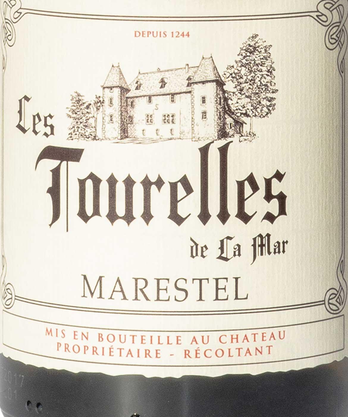 Marestel Les Trourelles - Etiquette vins blancs de savoie