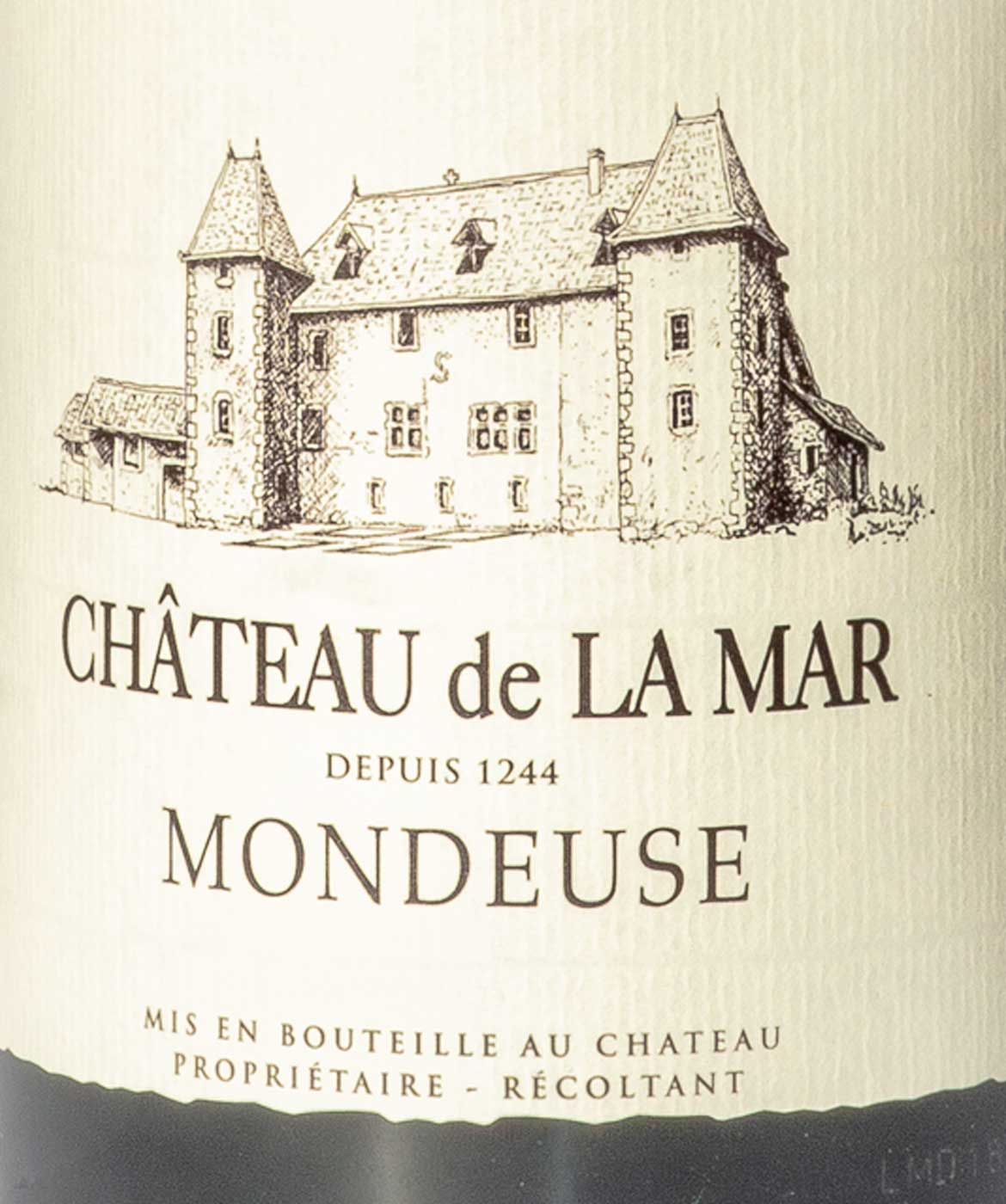 Mondeuse Savoie - Etiquette vins rouges de savoie
