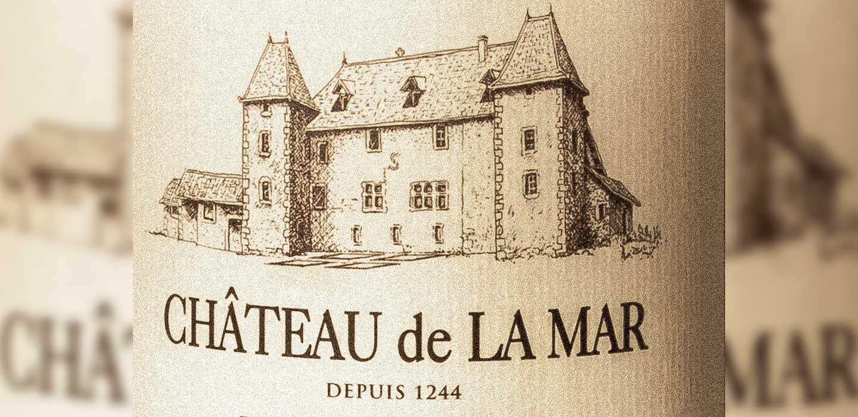 Chateau de la Mar Jongieux - Etiquette vins de savoie