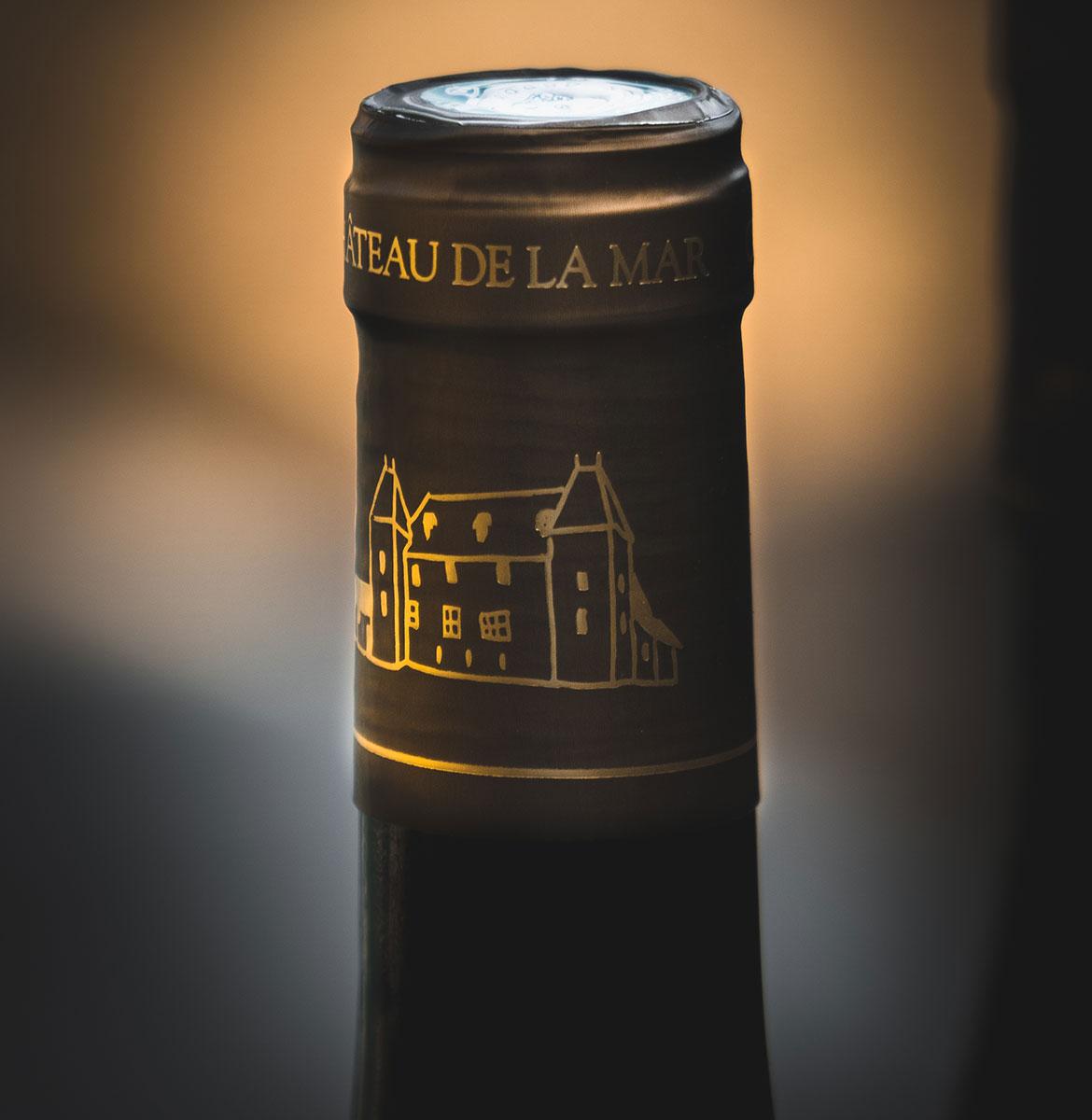 Col de bouteille Chateau de la Mar - Vins de Savoie