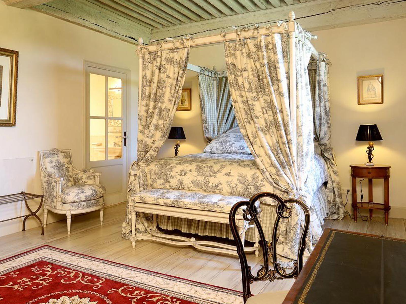 Chambre Altesse du château de La Mar