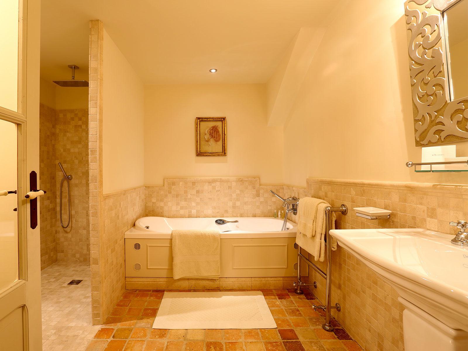 Salle de bains Altesse du château de La Mar