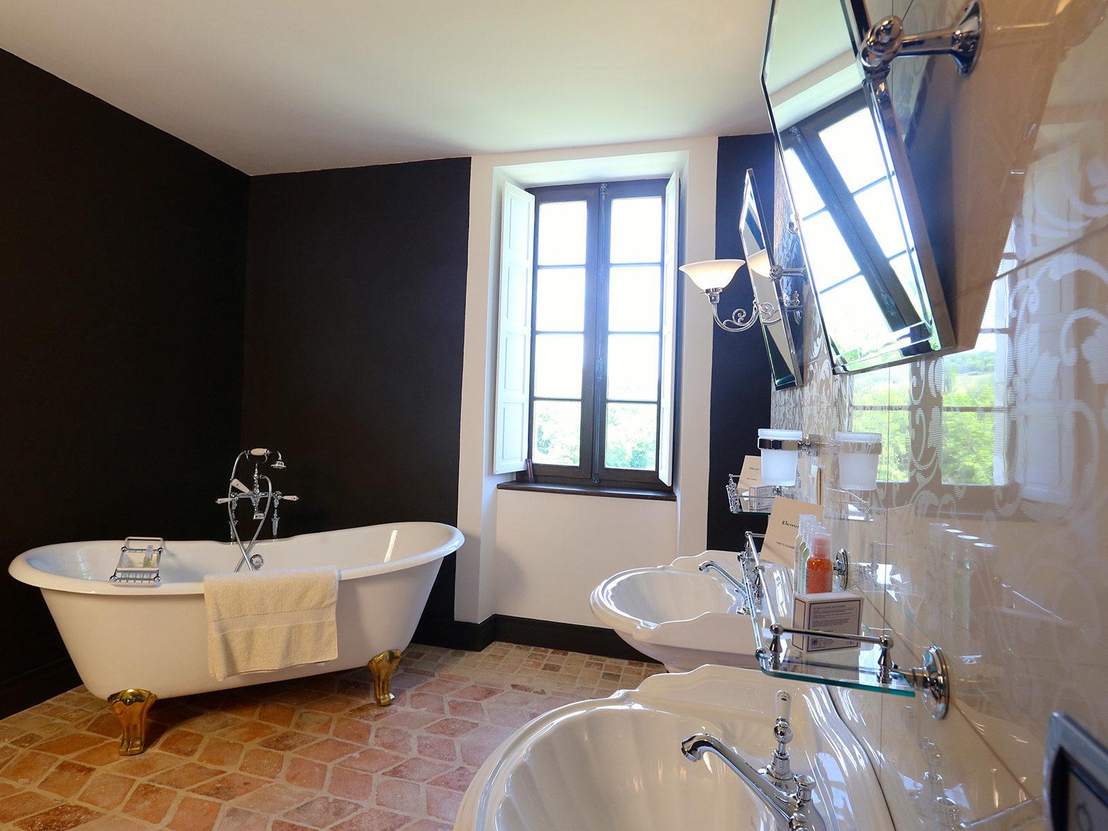 Salle de bains Chardonnay du château de La Mar Savoie
