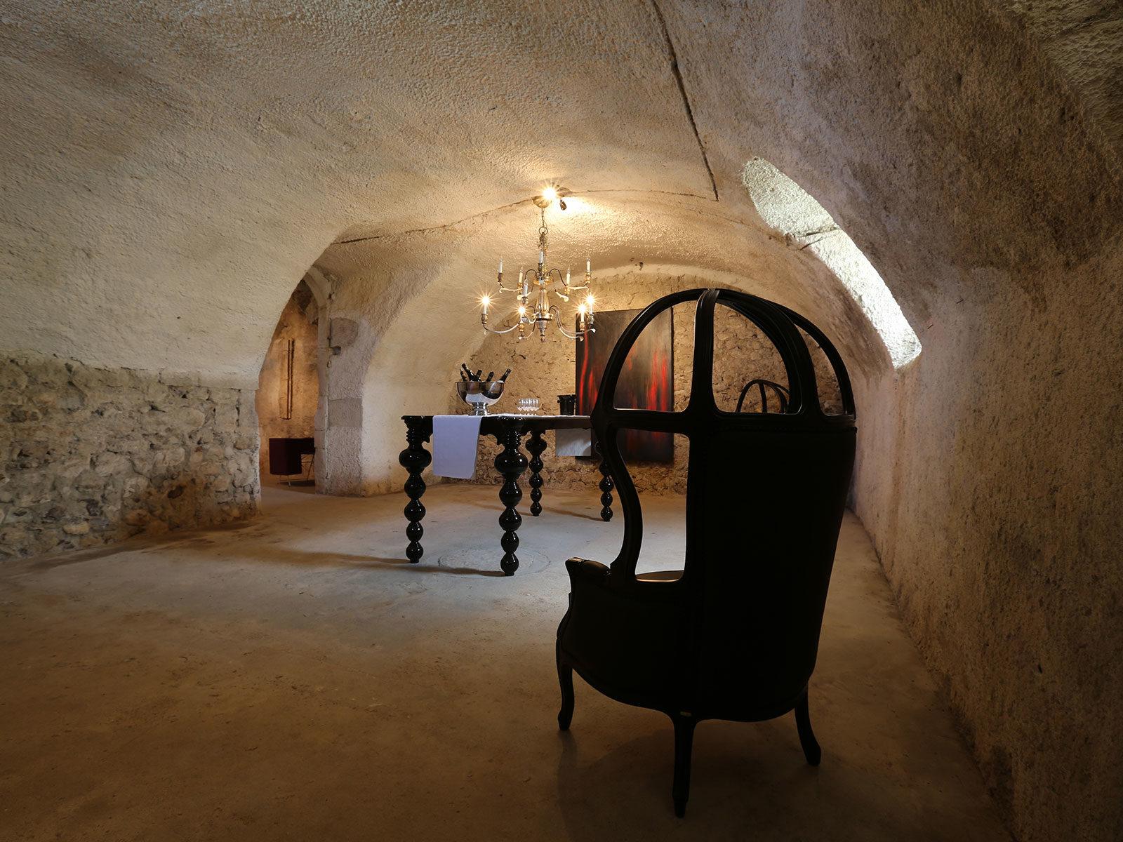 Salle de dégustation du château de La Mar Savoie