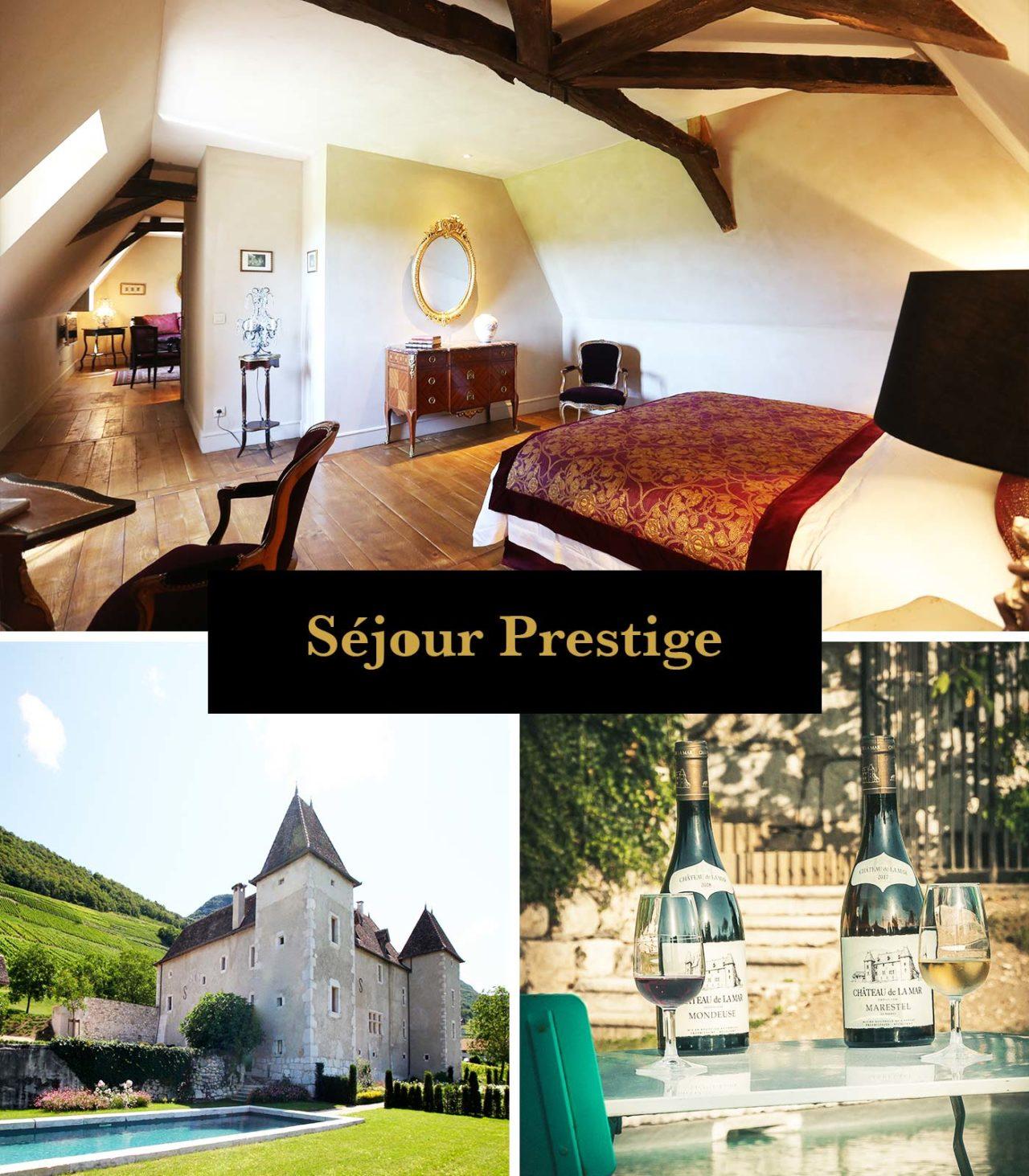 Sejour prestige Chateau de la Mare - Suite au coeur d'un vignoble